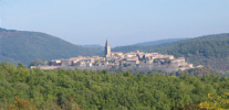 A bastide beyond the forest